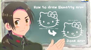 How to Draw Shinatty aru by ERIcentric