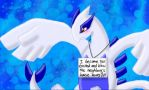 Lugia shaming by Snowwingedwolf