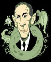 H.P. Lovecraft Profile by WilliamPenny