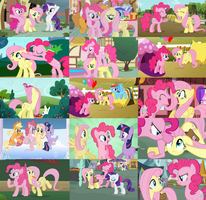 Pinkieshy Collage by The-Queen-Of-Cookies