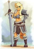 Forest Knight Applejack Ver.3 by Skecchiart