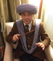 Professor Quirrell with turban by Ferenginar