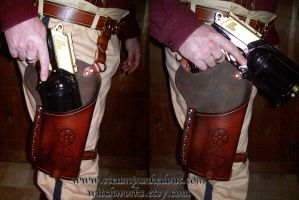 Maverick Holster by Steampunked-Out