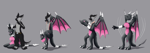 Latex Cynder Suit TF TG by Avianine