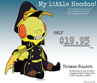 My Little Hoodoo - Thomas by Dragontrap