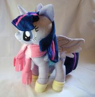 Winter Wrap Up Alicorn Twilight by PlanetPlush