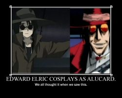 Alucard and Ed? by wouluf6