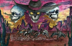 Ghost riders by LuuKuningatar93