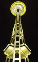 Seattle: Space Needle IV by Photos-By-Michelle