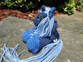 Mini Princess Luna Plushie Amigurumi 2 by RTakeshi