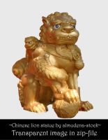 Chinese lion statue 3 by almudena-stock