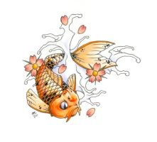 Traditional Koi 2 by DanielRound
