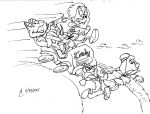 Ride Riffs Line Art Title Card, Mr. Toad by SteLo-Productions95