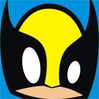 Wolverine Square Face by HeadsUpStudios
