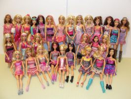 Barbie Fashionistas by barbiebondi