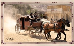 Stagecoach by josepcalleja