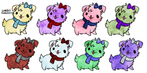 Holiday Free Puppy Adopts - closed by Tygerlanders-adopts