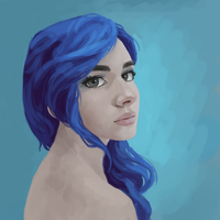 Luna Portrait by Fahu