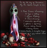 My Pet Zombie Christmas Day 11 by fallnangeltears