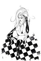 Lady Death Sits by TheBoo
