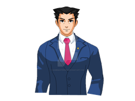 Phoenix Wright Sprite Blinking and sweating GIF by gamemaster8910