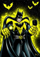 Sinestro Corps Batman by Berty-J-A