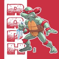 Raph from TMNT by BezerroBizarro