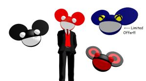 MMD Deadmau5 heads +Special+ by Sezfox
