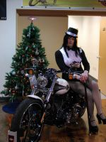 Zatanna Christmas With The Harleys by doctorderanged