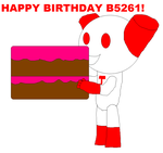 Happy Birthday b5261! by ArthurEngine