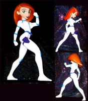 custom Kim Possible battlesuit by TeenTitans4Evr