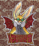 EXAMPLE Steampunk Badge by Chebits