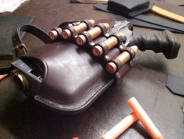 Nerf Holster Prototyp-2.2 by Leder-Joe