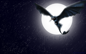 Night Fury Wallpaper by RealBarenziah
