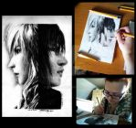 Lightning and Noctis by PatrisB