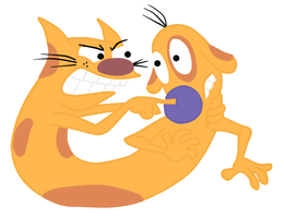 catdog by twinlightownz