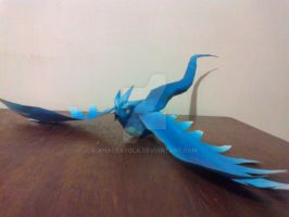 Articuno - Papercraft by anacrayola