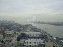 New Jersey and Manhattan View by Charlief43
