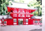 Shinto shrine by carmenharada