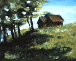 Study of Spring House in Summer by blightedangel