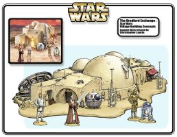 Star Wars Village Cantina by toymaker-cl