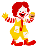 Ronald Cutout by IsabellaPrice