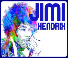 JIMI HENDRIX POPART by OmegaH32
