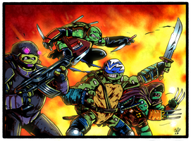 TMNT: Guerilla Warfare by PowderAkaCaseyJones