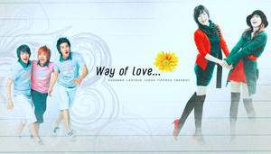 poster : Way of love by Xenon25