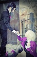Alois and Claude - Contract by Sora-Phantomhive