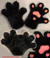 Black Paws FOR SALE by LobitaWorks