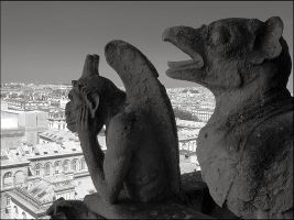 Demons of Paris by aponom