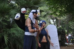 Konan and Kakuzu cosplay by Aoi-Berry
