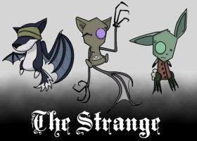 The Strange...contest entry.... by caboosemcgrief